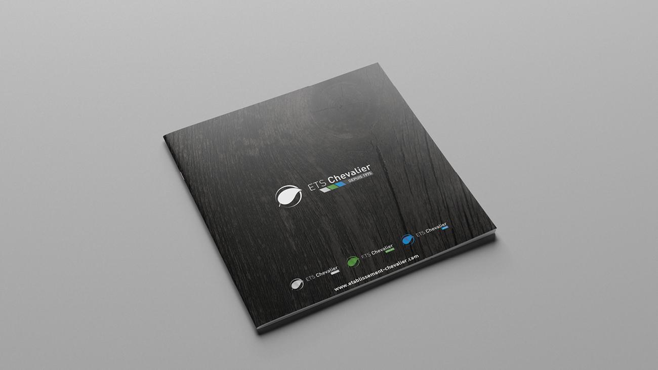Brochure ETS Chevalier – Créative Altitude, agence de communication
