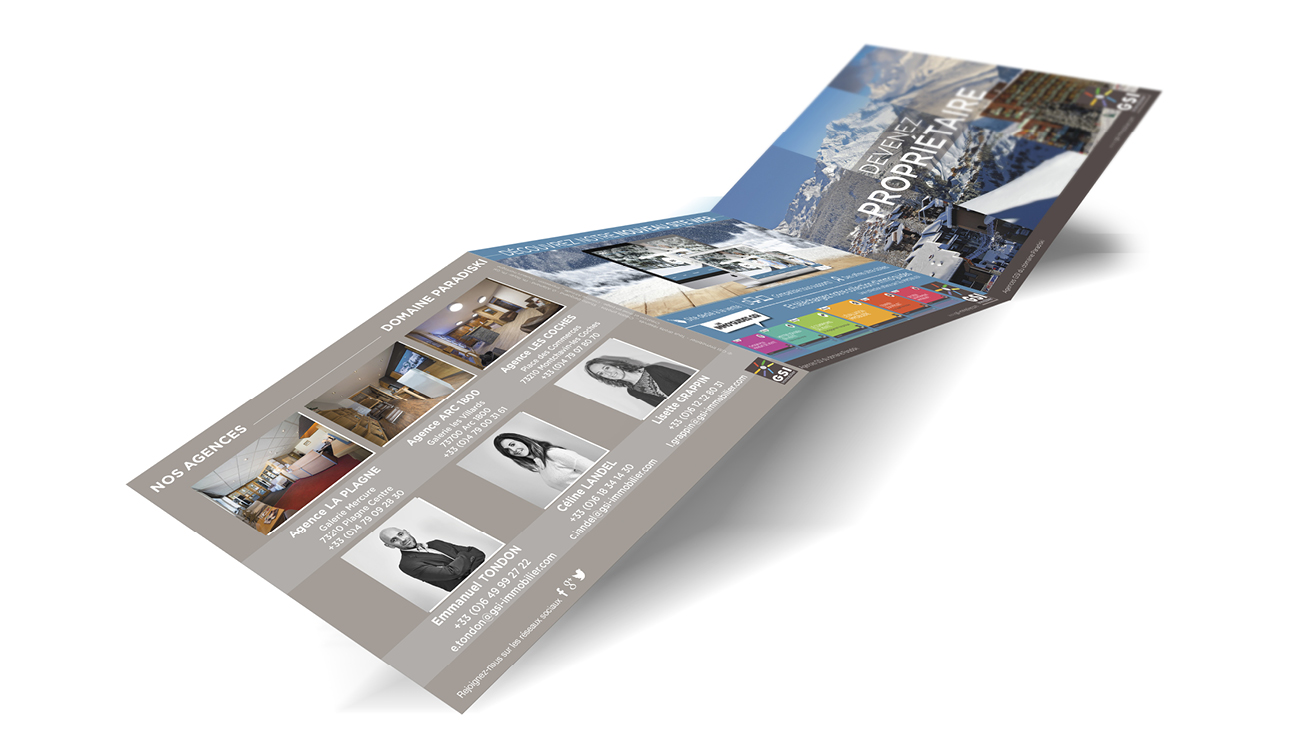 Creative Altitude - Agence Communication - Savoie - site-internet - logo - web - print - Brochure GSI
