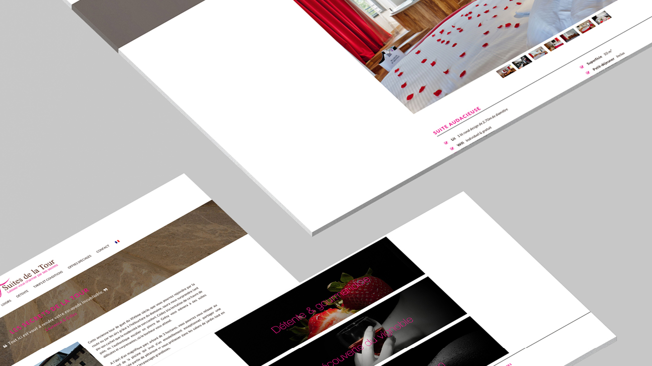 Creative Altitude - Agence Communication - Savoie - site-internet - logo - web - print - Suites de la Tour
