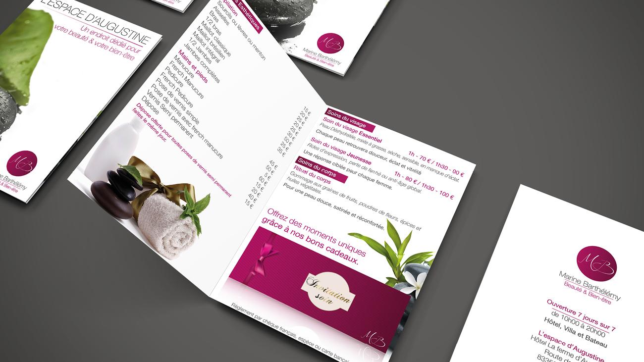 Creative Altitude - Agence Communication - Savoie - site-internet - logo - web - print - Dépliant Sport et Santé