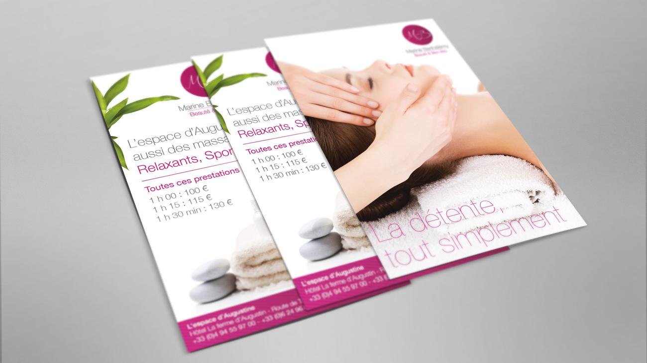 Creative Altitude - Agence Communication - Savoie - site-internet - logo - web - print - Cartes de visites Santé Bien être
