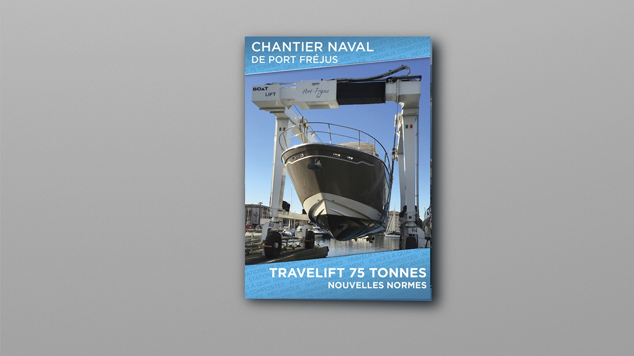 Creative Altitude - Agence Communication - Savoie - site-internet - logo - web - print - Dépliant Chantier Naval de Port Fréjus