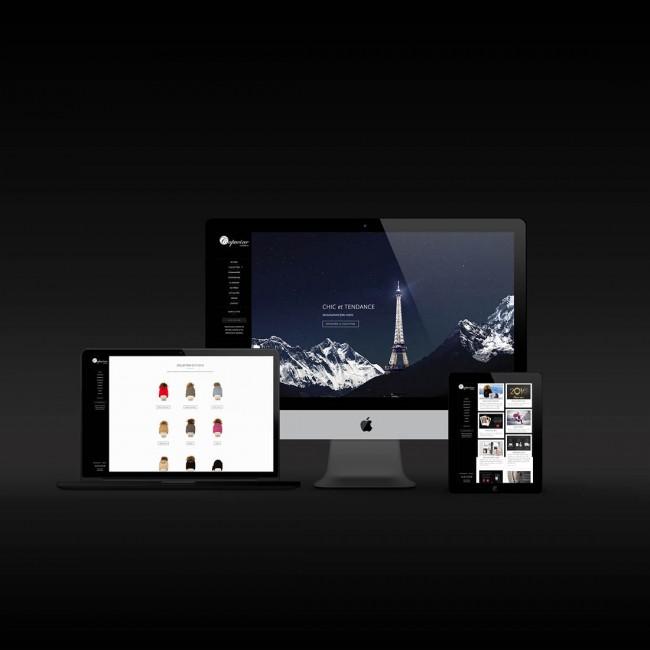 Creative Altitude - Agence Communication - Savoie - site-internet - logo - web - print - Site ecommerce Capucine Création