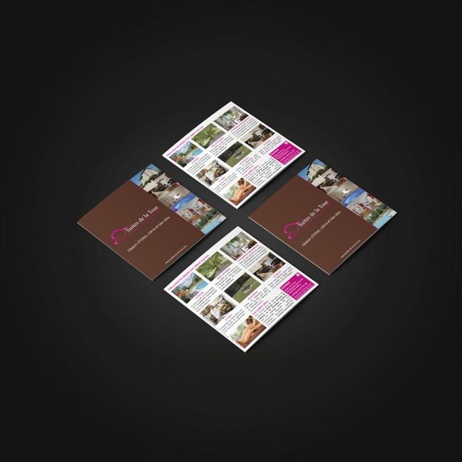 Creative Altitude - Agence Communication - Savoie - site-internet - logo - web - print - Brochure Suites de la Tour