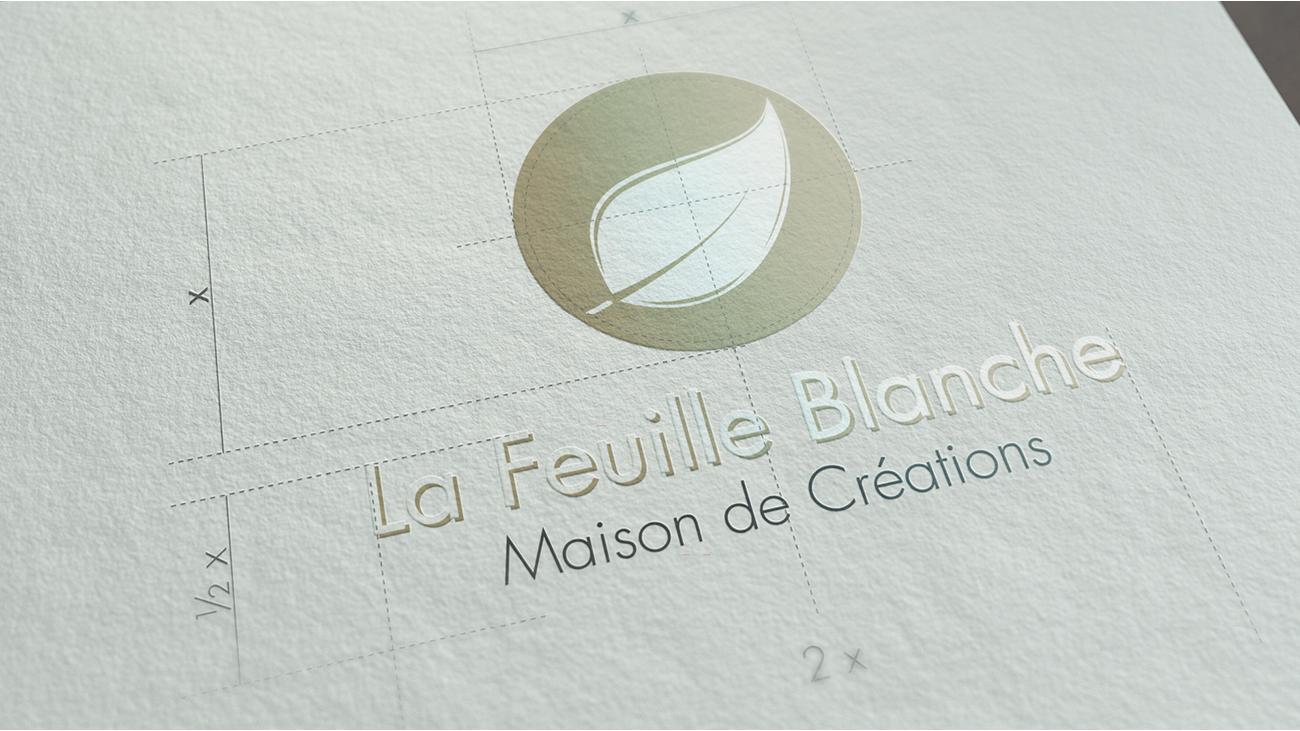 Creative Altitude - Agence Communication - Savoie - site-internet - logo - web - print - Identité visuelle La Feuille Blanche