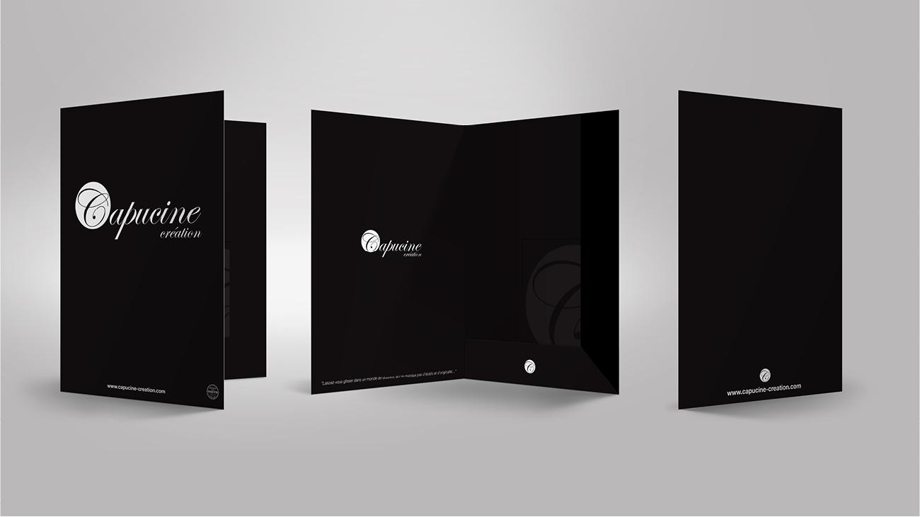 Creative Altitude - Agence Communication - Savoie - site-internet - logo - web - print - Pochette Capucine Création