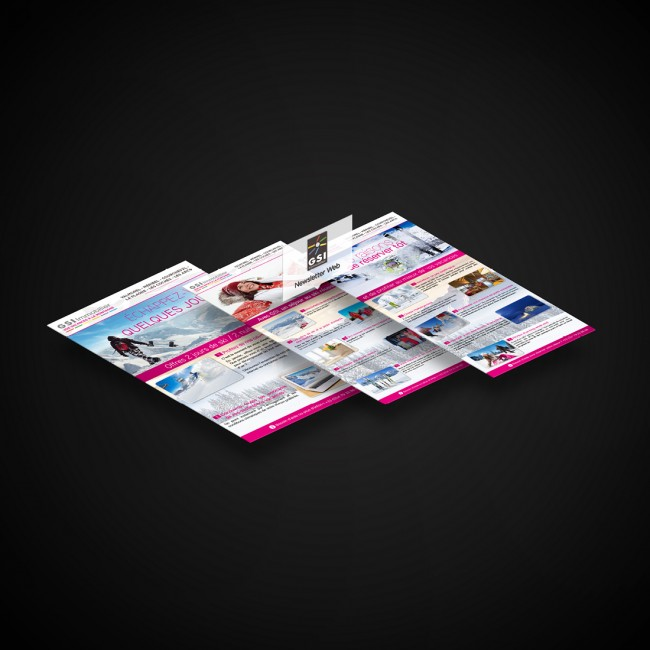 Creative Altitude - Agence Communication - Savoie - site-internet - logo - web - print - Newsletters GSI