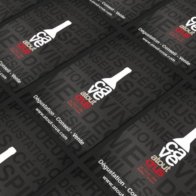 Creative Altitude - Agence Communication - Savoie - site-internet - logo - web - print - Cartes de visites Atout Crus