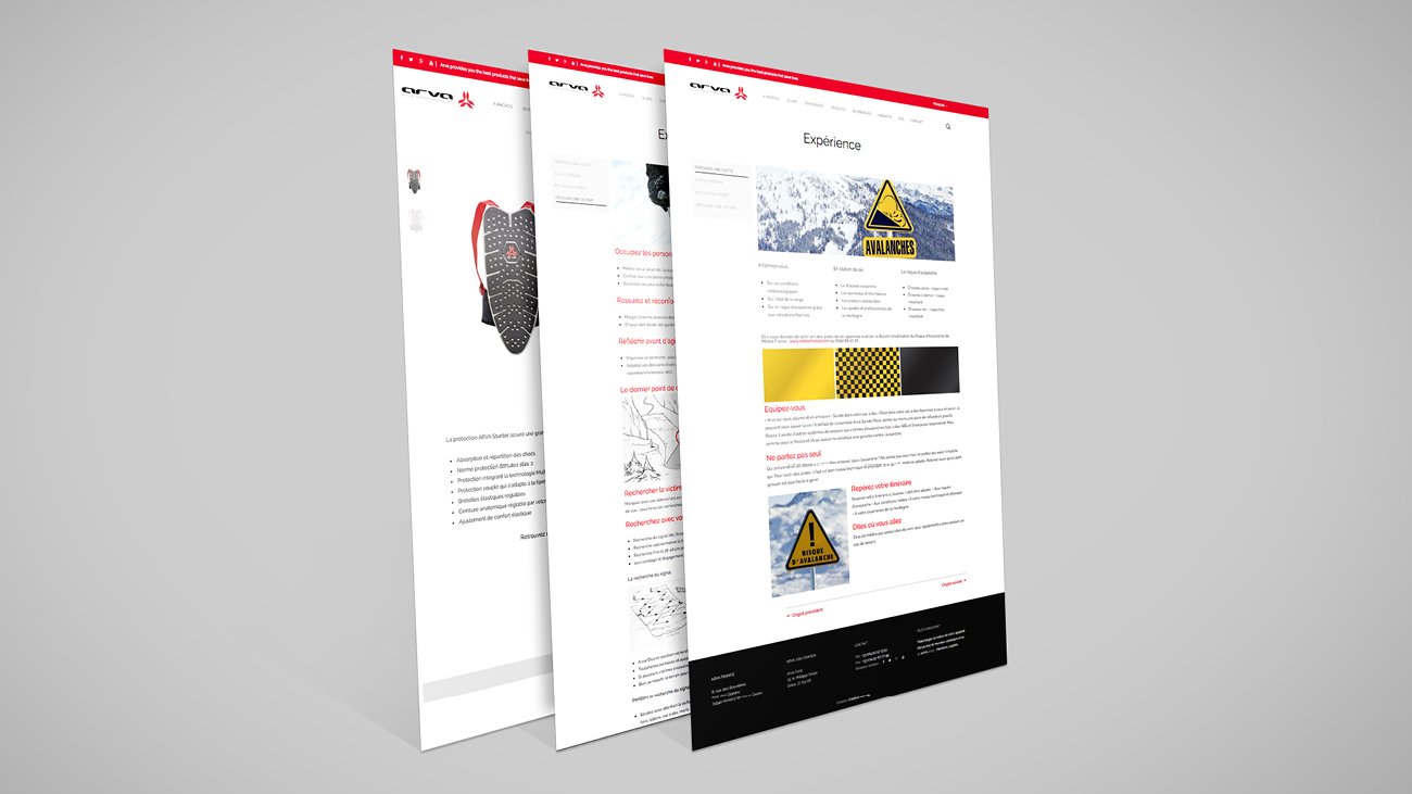 Creative Altitude - Agence Communication - Savoie - site-internet - logo - web - print - Site ecommerce Arva