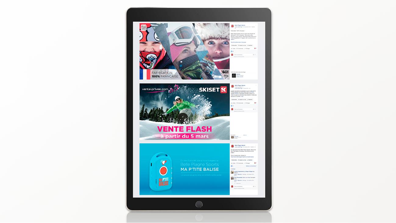 Creative Altitude - Agence Communication - Savoie - site-internet - logo - web - print - Community Management Belle Plagne Sports