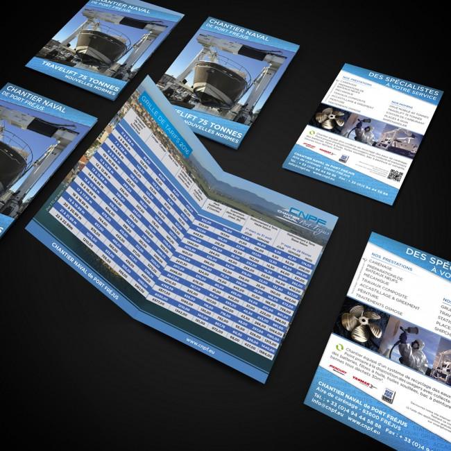Creative Altitude - Agence Communication - Savoie - site-internet - logo - web - print - Chantier Naval Fréjus