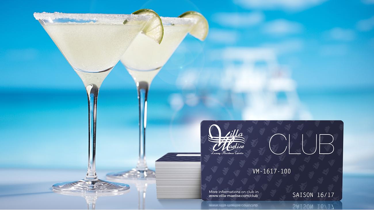 Creative Altitude - Agence Communication - Savoie - site-internet - logo - web - print - Carte club Villa Maelise