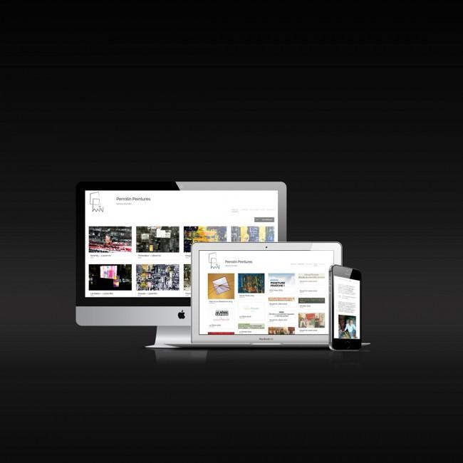 Creative Altitude - Agence Communication - Savoie - site-internet - logo - web - print - Perrotin Peintures