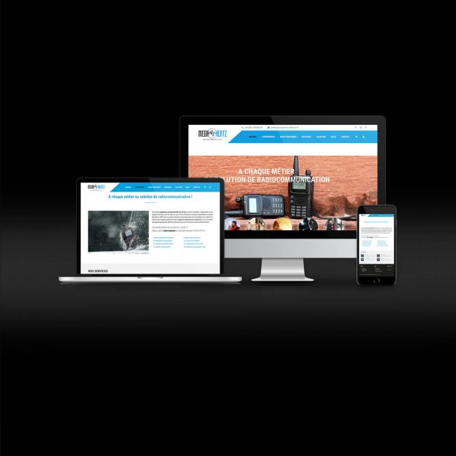 Site internet MegaHertz Radiocom