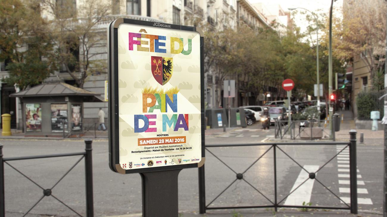 Creative Altitude - Agence Communication - Savoie - site-internet - logo - web - print - Affiche Fête du pain de Mai