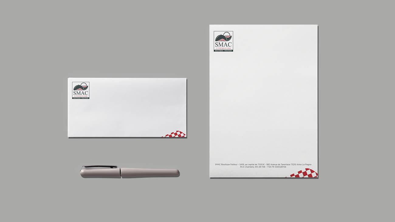 Creative Altitude - Agence Communication - Savoie - site-internet - logo - web - print - Smac-Traiteur