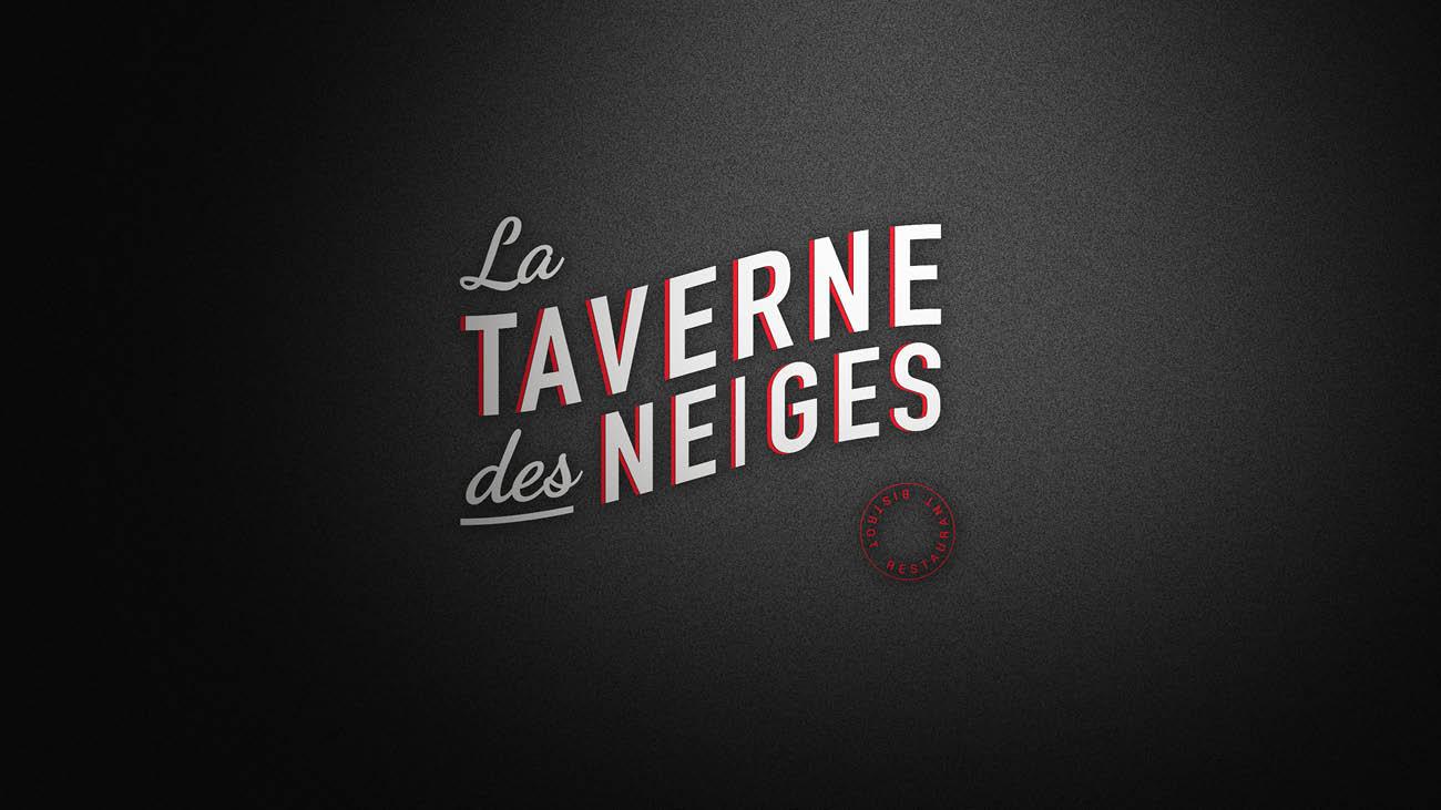 Creative Altitude - Agence Communication - Savoie - site-internet - logo - web - print - Identité visuelle La Taverne des Neiges