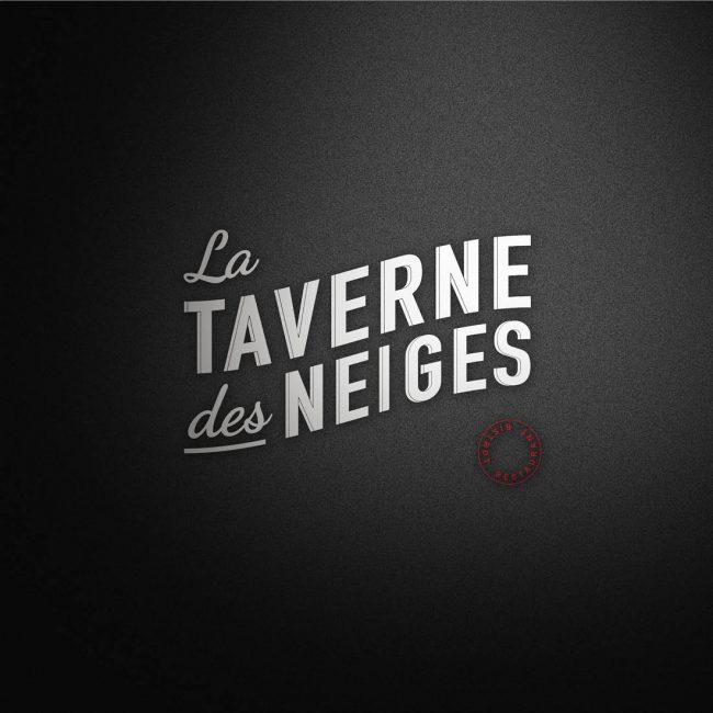 Identité visuelle La Taverne des Neiges