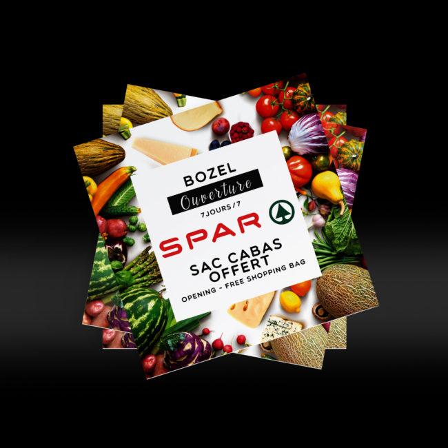 Creative Altitude - Agence Communication - Savoie - site-internet - logo - web - print - Carton SPAR
